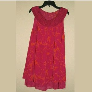 XS Cabi #999 Origami Sleeveless Tunic Top